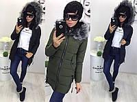 Женская куртка на синтепоне №772  48+++
