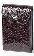 Кожаная кредитница (портмоне для визитных и пластиковых карточек) Petek 1114, фото 1