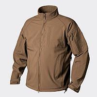Куртки Soft Shell / Куртка COMMANDER Shark Skin Windblocker койот HELIKON