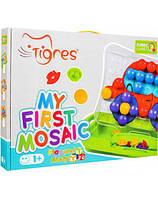 Развивающая игрушка Моя первая мозаика в коробке 39370 Тигрес