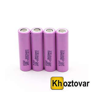 Аккумуляторная батарея Yiwu 18650 battery Samsung 2600 mAh