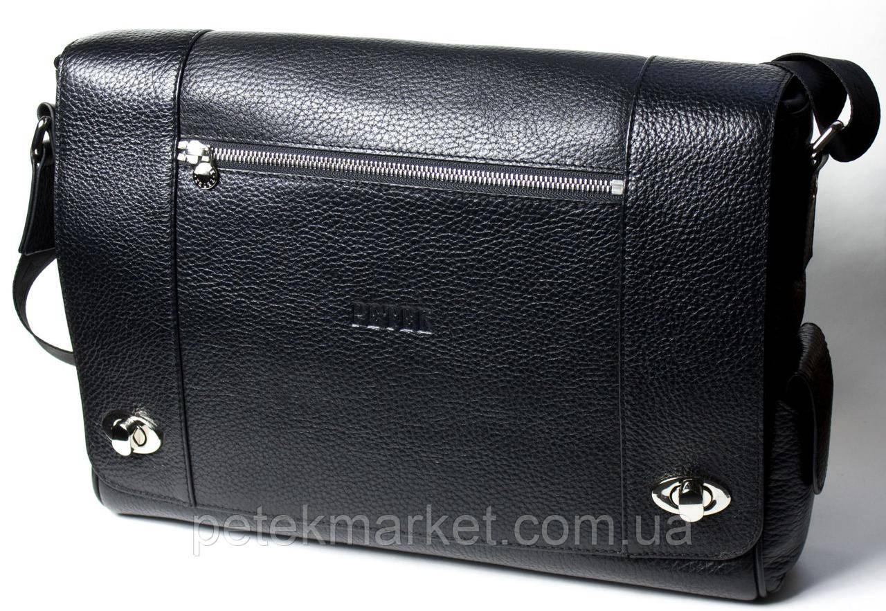 Кожаная мужская сумка Petek 3874