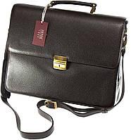Кожаный портфель Petek 3832