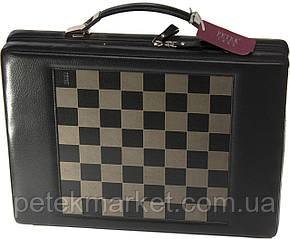 Шахматы, шашки и нарды Petek 958 (кожаный подарочный набор)