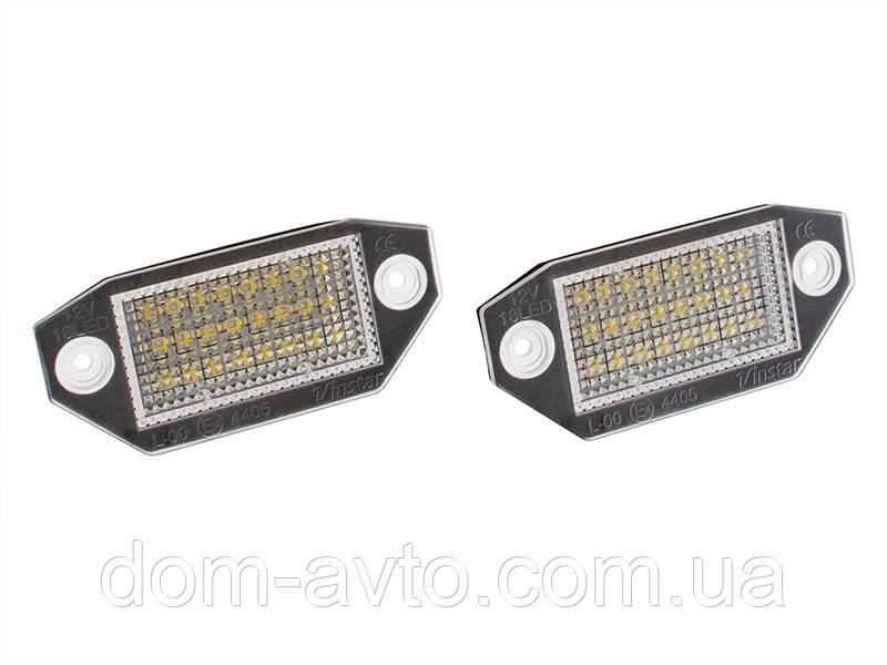 Подсветка номера LED Ford Mondeo MK3 III 00 мондео