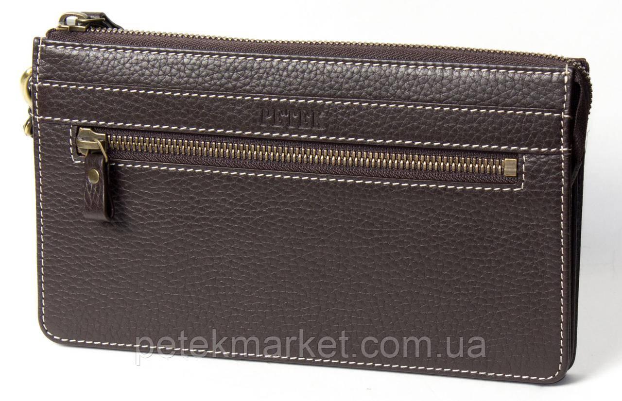 Кожаная мужская сумка (клатч) Petek 701