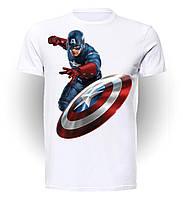 Футболка мужская GeekLand Капитан Америка Captain America atack CA.01.002