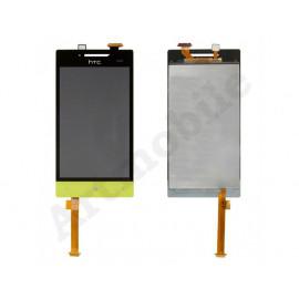 Дисплей для HTC A620e Windows Phone 8S Domino + touchscreen, зеленый