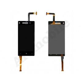Дисплей для HTC C620e Windows Phone 8X + touchscreen, черный