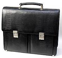 Кожаный портфель PETEK 7510 Черный (7510-041-01)