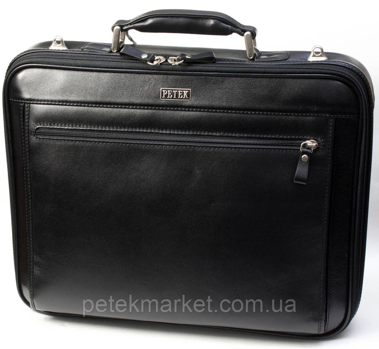 e536caaec638 Портфель мужской PETEK 3870 Черный (3870-000-01) - Ваш любимый магазин
