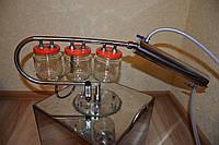 Дистиллятор для самогонного аппарата с тройным сухопарником