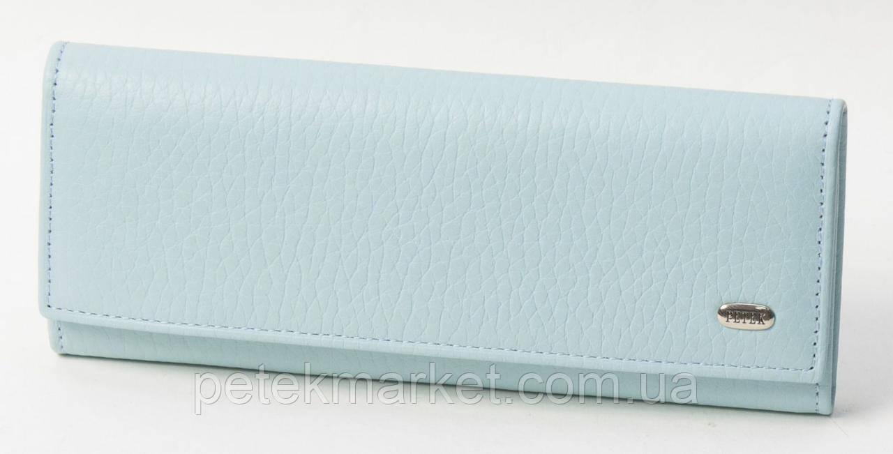Ключница Petek 520, Голубой, Естественная фактура, Матовая, Кожа