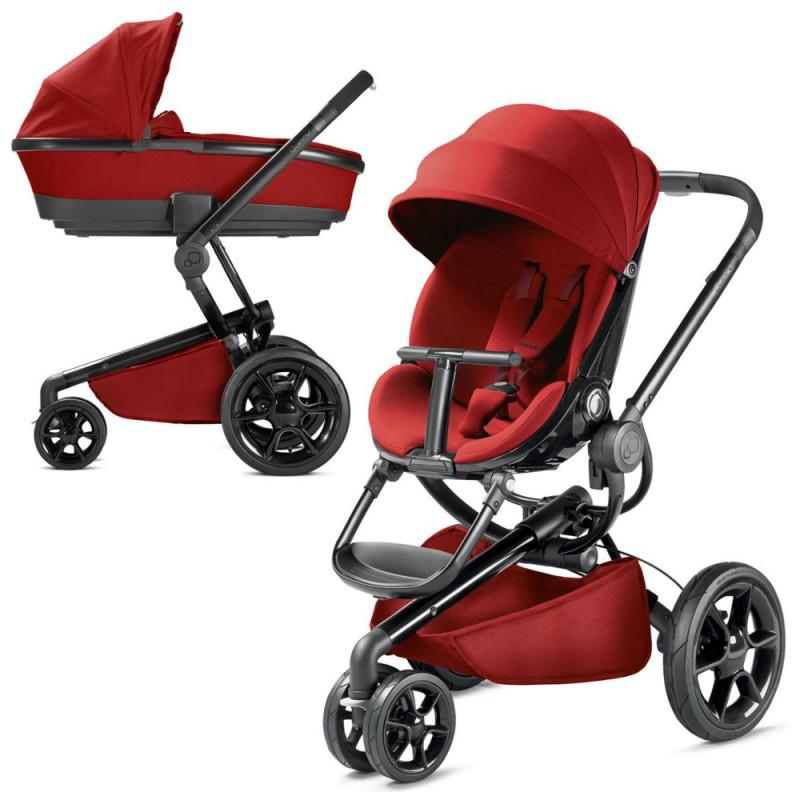 Детская универсальная коляска Quinny Moodd  2 в 1  Red Rumour