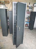 Сейф Оружейный Усиленный СО 1400У/3ТП для хранения Трёх Ружей высотой до 1380 мм с держателем для шомполов