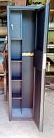 Сейфы для ружей Усиленный СО 1400У/3ТП для хранения Трёх Ружей высотой до 1380 мм с кассовым отделением и поло