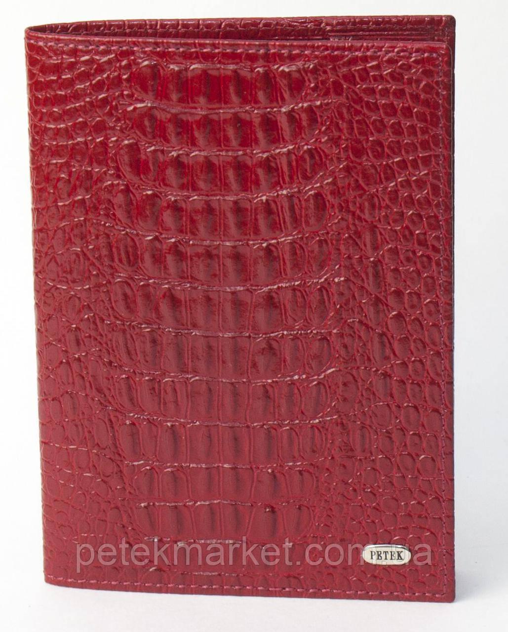 Обложка для паспорта PETEK 581 Красный (581-067-10)