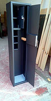 Оружейные сейфы СО1100/2ТП 3 полки для хранения Двух Ружей высотой до 1080 мм с отделением для патроно