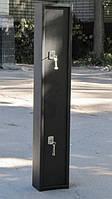 Сейф Оружейный СО 1400/1ТН 2 замка для хранения Одного Ружья высотой до 1380 мм с отделением для патронов