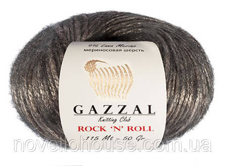пряжа Gazzal Rock N Roll для ручного вязания 13181 купить пряжу