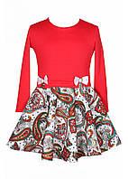 Платье для девочек Камалия красное