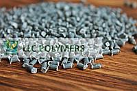 Вторичные гранулы полипропилена (ПП) серые, фото 1