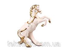 Фигурка Белый конь 12 см. - фарфор