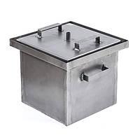 Коптильня горячего копчения усиленная (не окрашена,2 мм сталь, 430*300*280 мм ) HousePro, фото 1