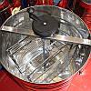 Медогонка на 2 рамки (435 мм х 470 мм) Н/С неповоротная, фото 3