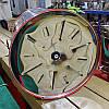 Медогонка на 2 рамки (435 мм х 470 мм) Н/С неповоротная, фото 4