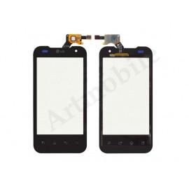 Тачскрин для LG P990 Optimus 2X/P999 Optimus G2x, черный, оригинал (Ки