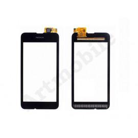 Тачскрин для Nokia 530 Lumia (RM-1017/RM-1019), черный