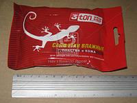 Салфетка очищ. для пластика и кожи влажн. 150х190мм 3ton (15 шт) 52178