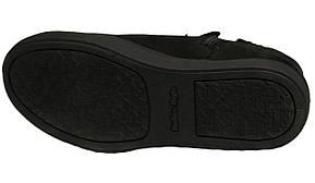 Ботинки 64BLACKNUBUK  р. 32,33,36,37,38,39 Черный, фото 2