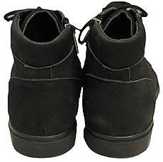 Ботинки 64BLACKNUBUK  р. 32,33,36,37,38,39 Черный, фото 3