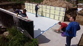 Сборный Бассейн TOSCANA 4.16x10-1.5m с.Хотяновка Киевская обл. 10