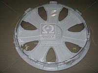 Колпак колесный R15 ULTRA белый 1шт.  DK-R15UW