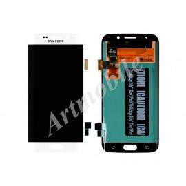 Дисплей для Samsung G925F Galaxy S6 Edge + touchscreen, белый, White P