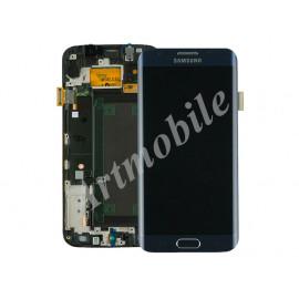 Дисплей для Samsung G925F Galaxy S6 Edge + touchscreen, синий, Black S