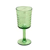 "Бокал для вина зеленый  350 мл ""Пимпл"" ( набор бокалов )"