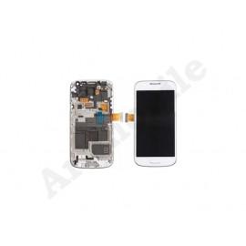 Дисплей для Samsung i9190 Galaxy S4 mini + touchscreen, белый, с перед