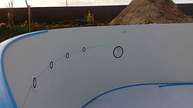 Сборный Бассейн TOSCANA 4.16x10-1.5m с.Хотяновка Киевская обл. 17