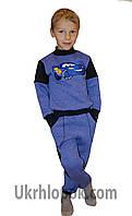 Теплый спортивный костюм на мальчика Тачка