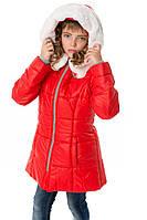 """Детское зимнее пальто на флисе со съемным мехом """"Винкс"""", фото 1"""