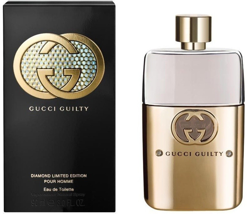 Gucci Guilty Pour Homme Diamond Limited Edition (Гуччи Гилти Пур Хом ДиАманд Лимитед), 90 ml