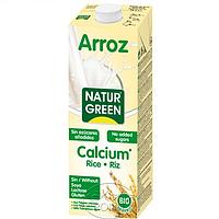 Органическое рисовое молоко без сахара с кальцием, 1 л, NaturGreen (8437002932794)