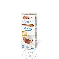 Органические растительные сливки для приготовления из кокоса, 200 мл, EcoMil (8428532230092)