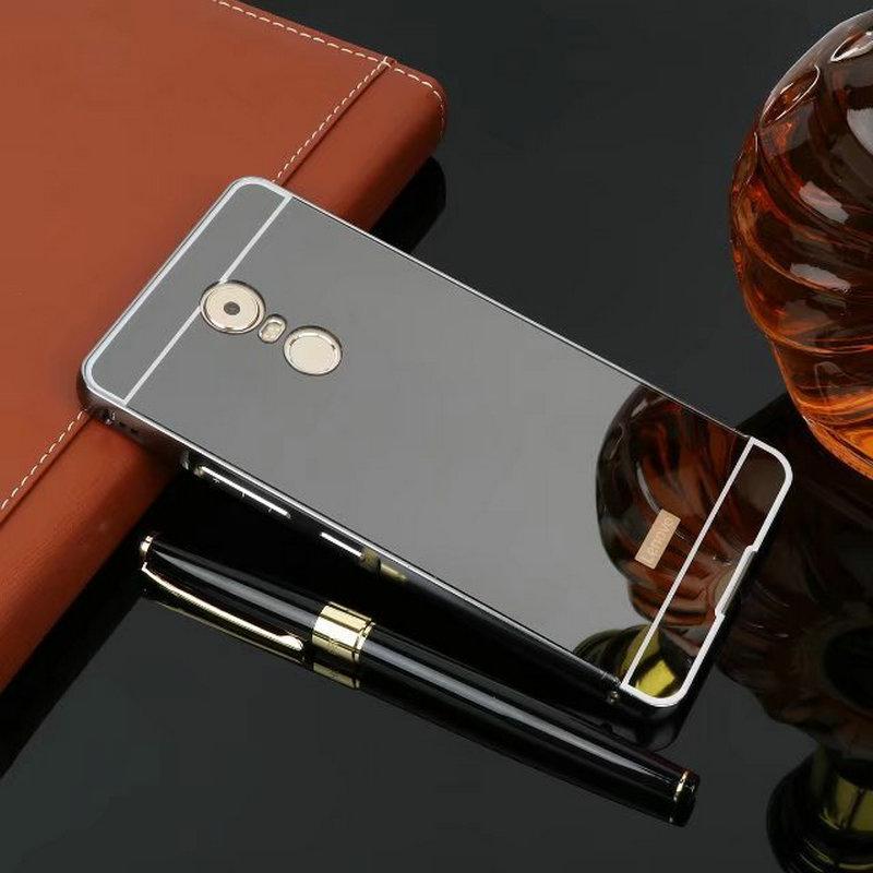 Чехол для Lenovo K6 Note зеркальный черный