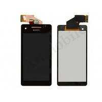 Дисплей для Sony LT25i Xperia V + touchscreen, черный