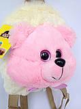 Детский рюкзак игрушка Медвежонок 22*24*8 см, фото 4